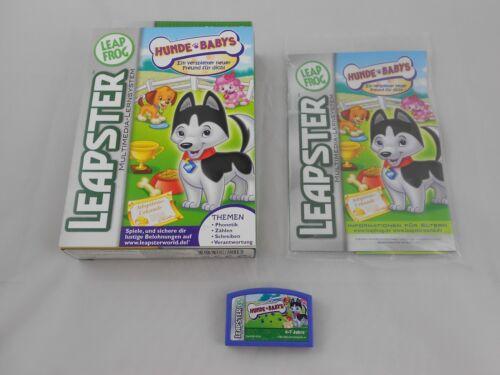 Leapster Hunde Babys Spiel Software Leap Frog Lernspiel Zählen Schreiben Lernspielzeug
