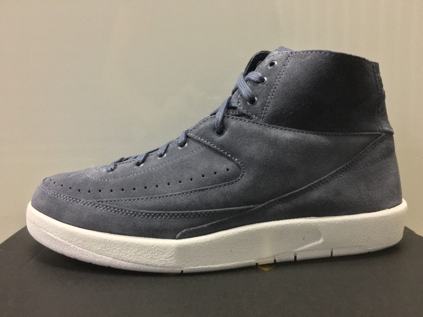 Nike Air Jordan Retro 2 Decon Decon Decon Thunder Blau Suede 897521-402 9-13 1 11 nyc 044c5a