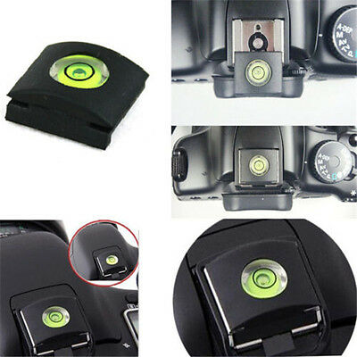 Zapata universal compatible con nivel de burbuja Nikon, Canon, Panasonic DSLR