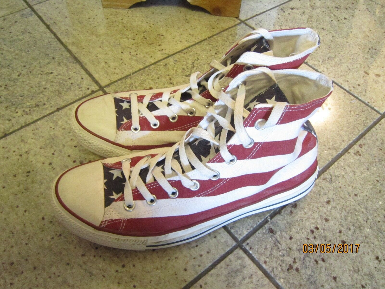 Converse Chucks  All Star Gr.45 limitiertes Modell Stars and Stripes neuwert