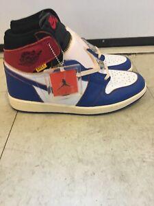 huge discount d4971 1ed6f Details about Air Jordan 1 Retro High Union Los Angeles Blue Toe BV1300-146  Size 11