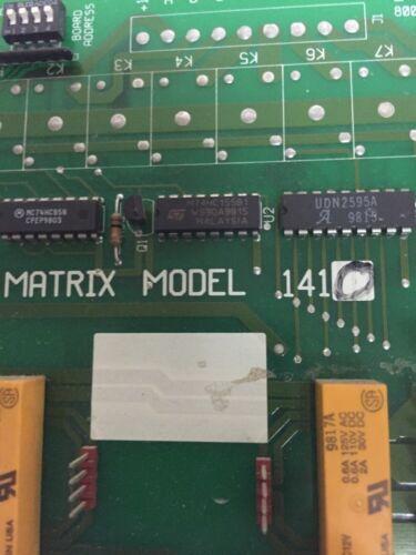 MTI Matrix MVP Switching System # 1410 Module Board