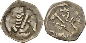 Autriche-Vienne-Ottokar-Ii-de-Boheme-1251-1276-Pfennig-Ange-B173-x6035