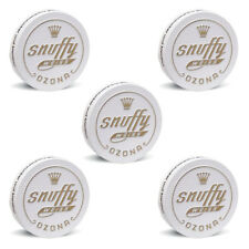OZONA Snuffy weiss Snuff, 6g / 5er (Tabak, Schnupfpulver, Schnupftabak)