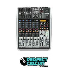 Behringer XENYX QX1204USB 8 CH 4 Bus USB And FX MIXER - NEW - PERFECT CIRCUIT