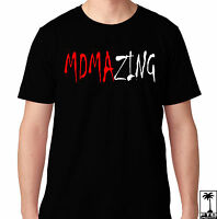 Mdmazing Mdma Amazing Rave Dance Music House Electro Music Edm Edc Party T Shirt