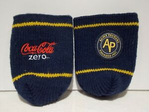 big sale 602b0 a10ae Details about 2) ACME GREEN BAY PACKERS Coca-Cola Zero Blue Knit Sweater  Can Coozie Koozie