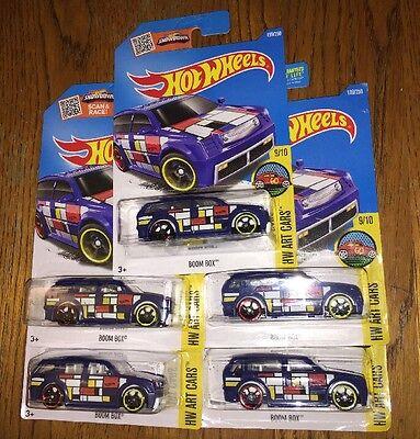 Toys & Hobbies Efficient 2016 Hot Wheels Hw Art Cars Boom Box 9/10 199/250 5 Open Spoke Wheel Lot