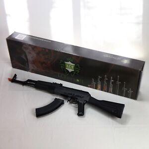 Lct Akm Steel Airsoft Rifle Full Stock Polymer Furniture Rick