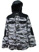 Technine Do Work Snowboard Jacket Snow Camo / Corduroy Small-2xlarge Ds16