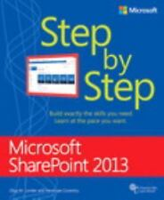 Step by Step: Microsoft SharePoint® 2013 by Olga M. Londer and Penelope Coventry (2013, Paperback, New Edition)