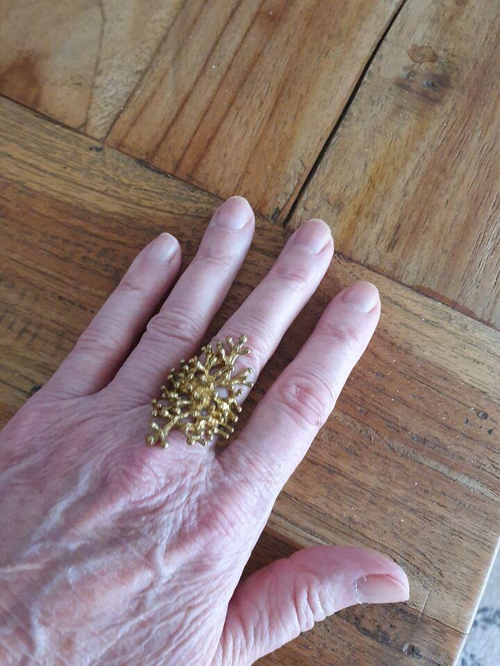 Fingerring, andet materiale, Ukendt
