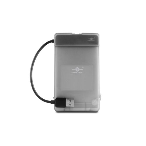 "Vantec USB 3.0 to 2.5/"" SATA HDD Adapter with case CB-STU3-2PB"