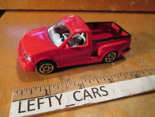 SCALE 1/43 BBURAGO RED FORD F-150 STEP SIDE BODY STYLE - LOOSE! NO BOX!