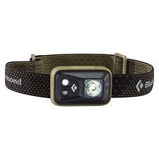 Black Diamond Spot Headlamp 200 Lumens Dark Olive LED Flashlight Torch & Strobe