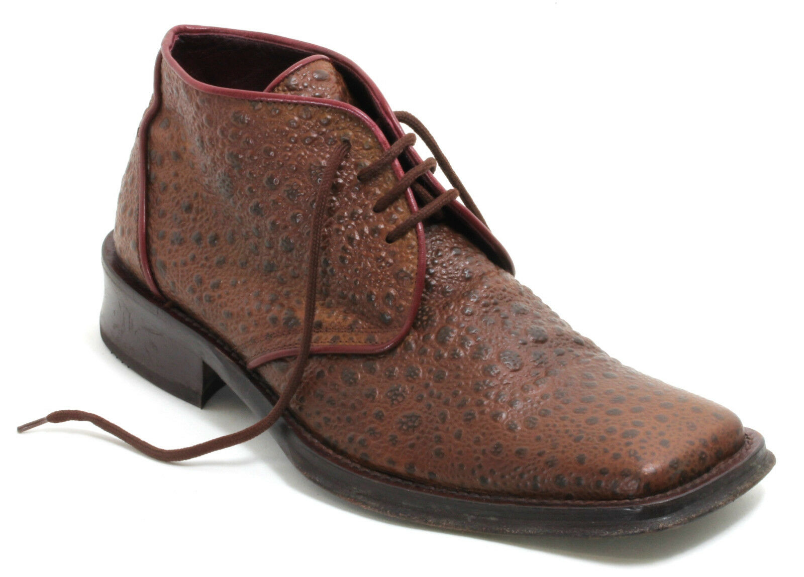 Western botas botas de vaquero solchaga style line Dance semi zapato schnürschuh 42,5