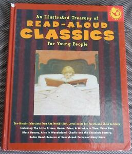 AN-ILLUSTRATED-TREASURY-OF-READ-ALOUD-CLASSICS-Alice-in-Wonderland-etc-Lge-HC