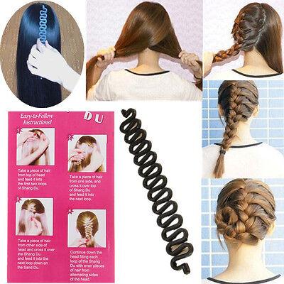 Women Hair DIY Tool French Braiding Tool Braided Hair Accessories US selle