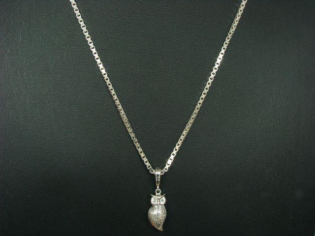 925 Sterling silver Kette & Anhänger mit Emaille Besatz   Echtsilver   72,0cm