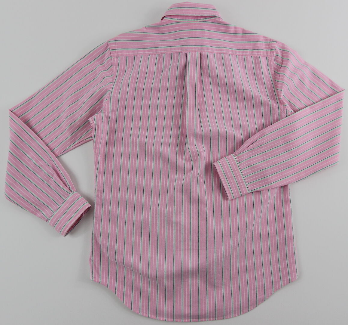 Uomo's RALPH Striped LAUREN rosa Striped RALPH Oxford Cotton Shirt Large L NWT NEW  89+ Nice! 180178