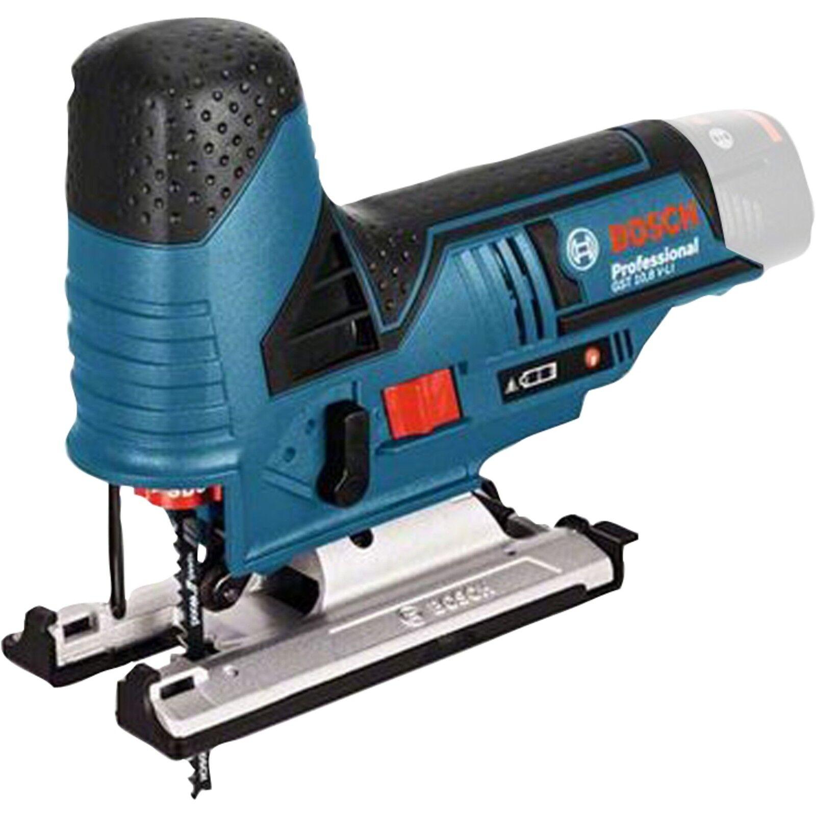 Bosch Professional Akku-Stichsäge GST 12V-70 solo Professional, 12 Volt, blau
