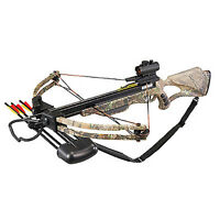 Velocity Archery Lionheart Crossbow Package Xb-300crts W/quiver Arrows Red Dot
