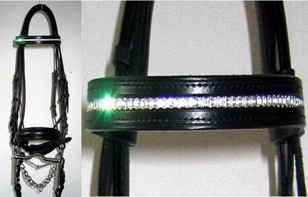 Raro FSS Alemán Cristal Confort Acolchado Bling Brida personalizado hecho Sparkle Nuevo