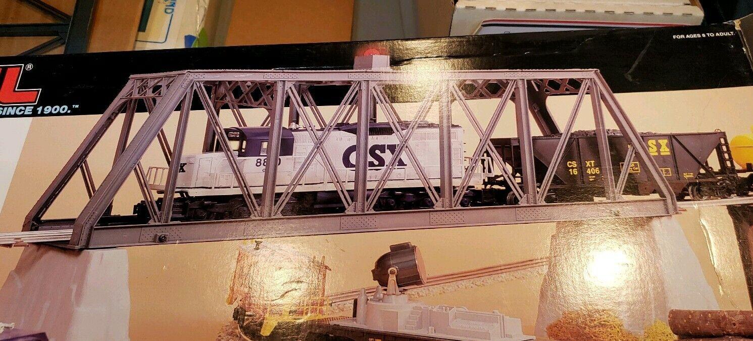 Lionel 6-1272 Truss Bridge con flash e Piers O O27 Scale