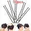thumbnail 92 - HOT-Fashion-Girls-Crystal-Hair-Clip-Snap-Barrette-Hairpin-Bobby-Hair-Accessories