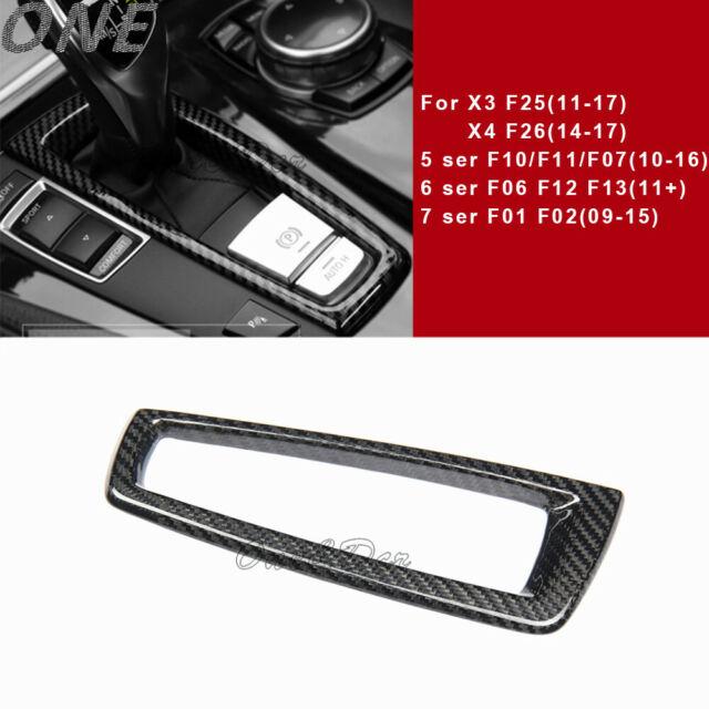 Carbon Fiber Gear Surround Cover For BMW 5 6 7 Series F10 F07 F11 F12 F13 F06