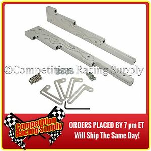 SBC Chevy Small Block, Ford SBF Polished Aluminum Spark