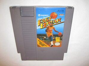 Magic Johnson's Fast Break (Nintendo NES) Game Cartridge Excellent