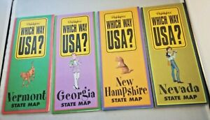 Map Of Georgia Vermont.Highlights Which Way Usa Maps Vermont Georgia New Hampshire Nevada