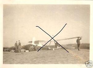 20590-Originalfoto-6x9cm-Pilotenausbildung-Segelflug-ca-1940