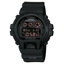 Casio Men's G-Shock Military G-Force Digital LED Watch Matte Black DW6900MS-1