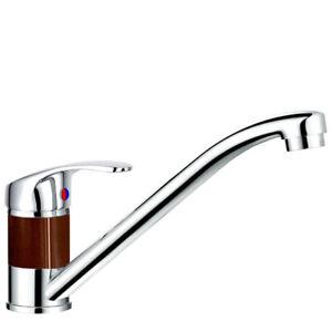 Braun Küchenarmatur Niederdruck Küche Wasserhahn Spültischarmatur braun mocca
