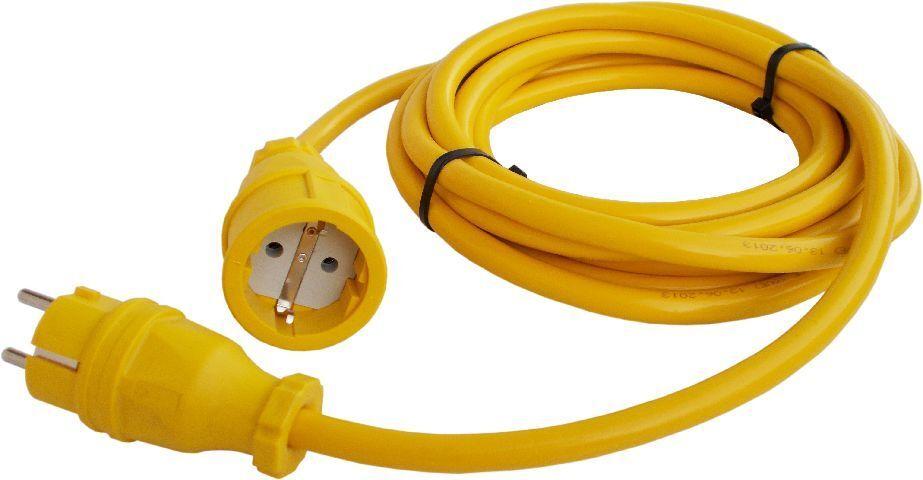 Verlängerungskabel Stromkabel Verlängerung Kabel N07V3V3-F 25m 3x1,5 mm Gelb YL   Marke