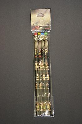 NyForm Troll - Norway, 4 Bleistifte, 4 pencils