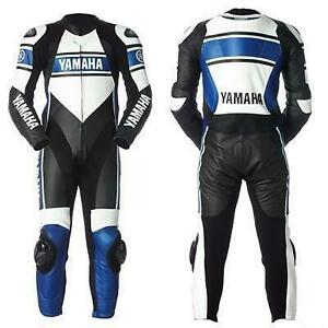 Motorcycle Leathers - CUSTOM YAMAHA RACING SUITS- Custom Design - Custom Lettering and Logos Canada Preview