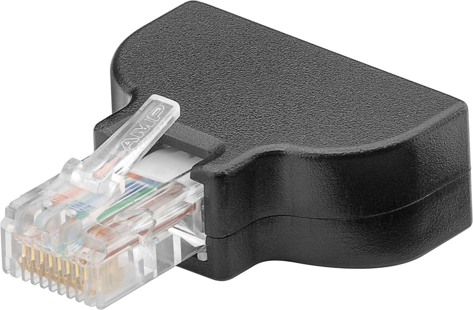 rj45 crimp stecker schraubversion rj 45 lan netzwerk verlegekabel starre litze ebay. Black Bedroom Furniture Sets. Home Design Ideas