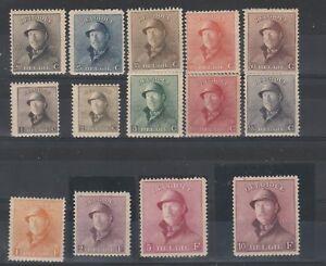 FRANCOBOLLI-1919-BELGIO-ALBERTO-I-MNH-MLH-Z-9306