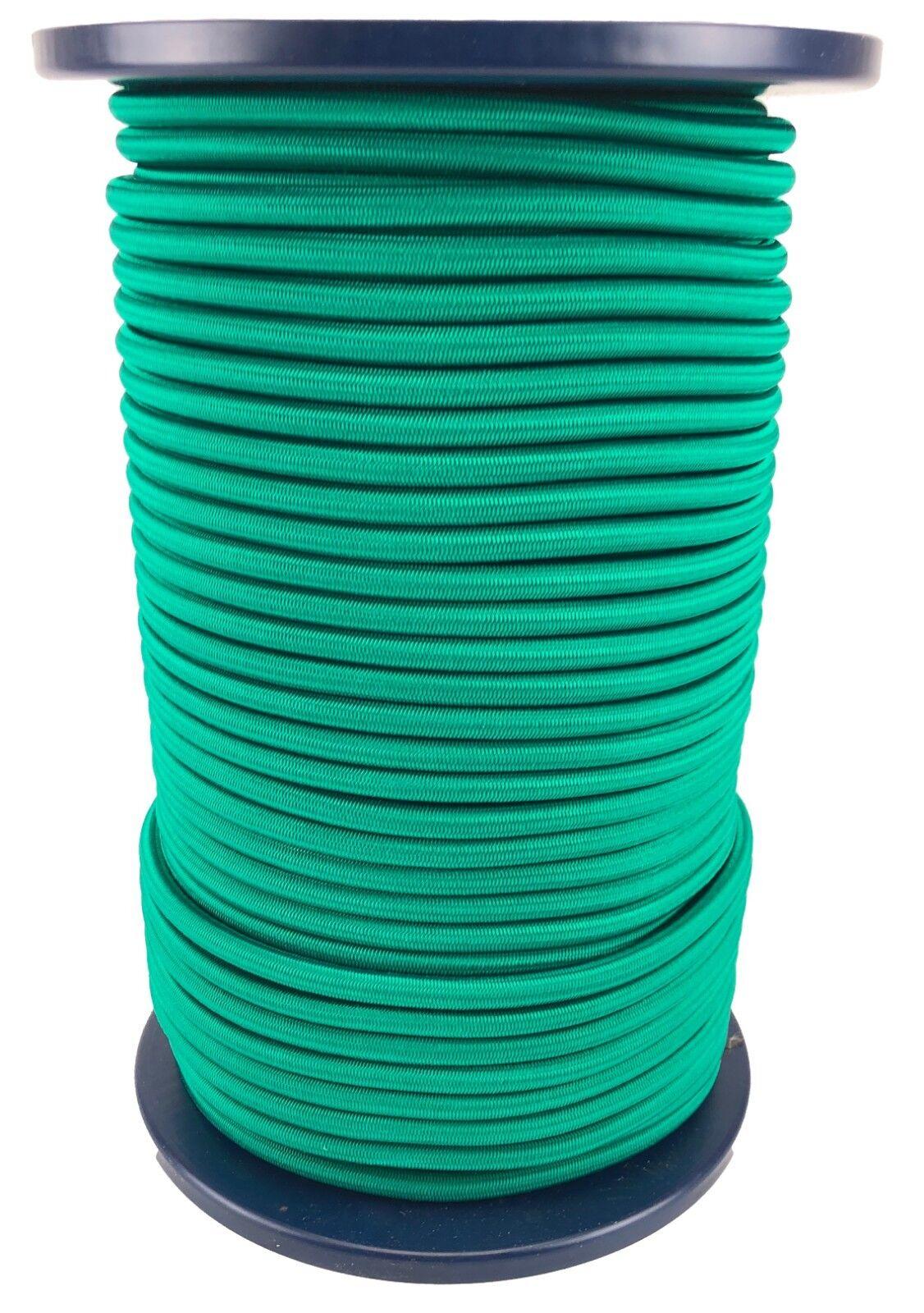12mm Smaragdgrün Elastischer Gummizug Seil X 20 Meter Krawatte Unten
