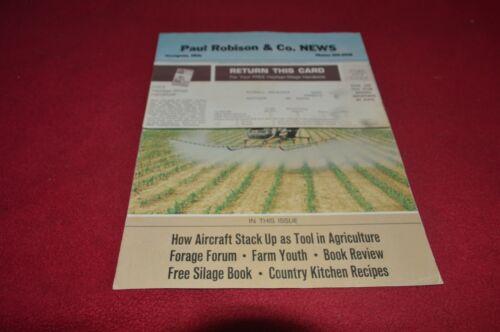 New Holland Equipment News For Vol 15 1969 3 Dealer/'s Brochure YABE18