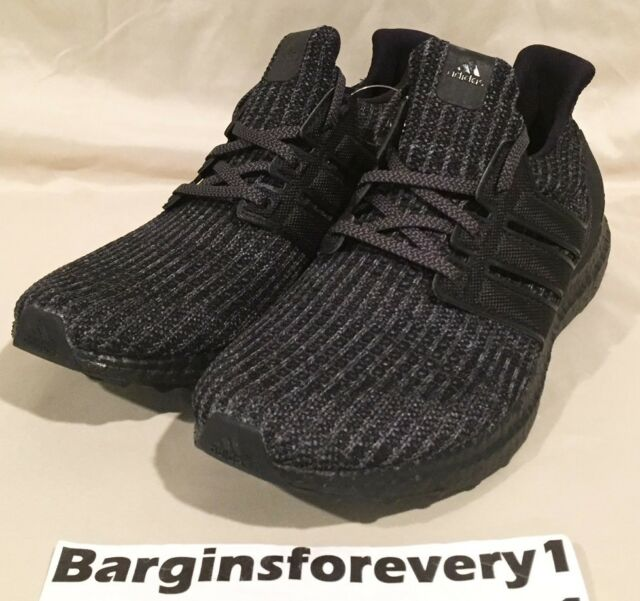 c0613787bd530 ... netherlands mens adidas ultra boost 4.0 triple black bb6171 us 8 e773b  4dca1