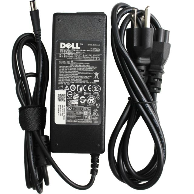 New Genuine Dell Inspiron N5050 65W AC Power Adapter Laptop Charger KT2MG 0KT2MG