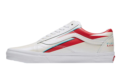Vans ® x David Bowie Old Skool | White | Various Sizes Available | | eBay