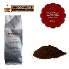 Caffè Arabica macinato fresco per espresso Nicaragua Matagalpa El Baron 250 gr