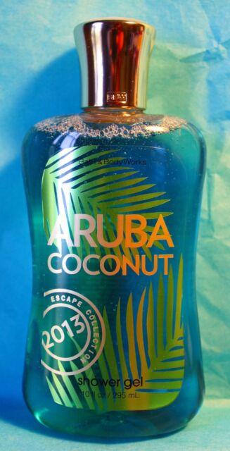 ARUBA COCONUT Shower Gel 10.0 fl oz by BBW.    LAST ONE !!! SAVE $$$