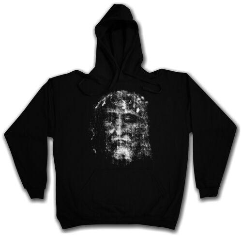 Shroud of Torino Hooded Sweat-con cappuccio Pullover Hoodie-Gesù Cristo cristiano