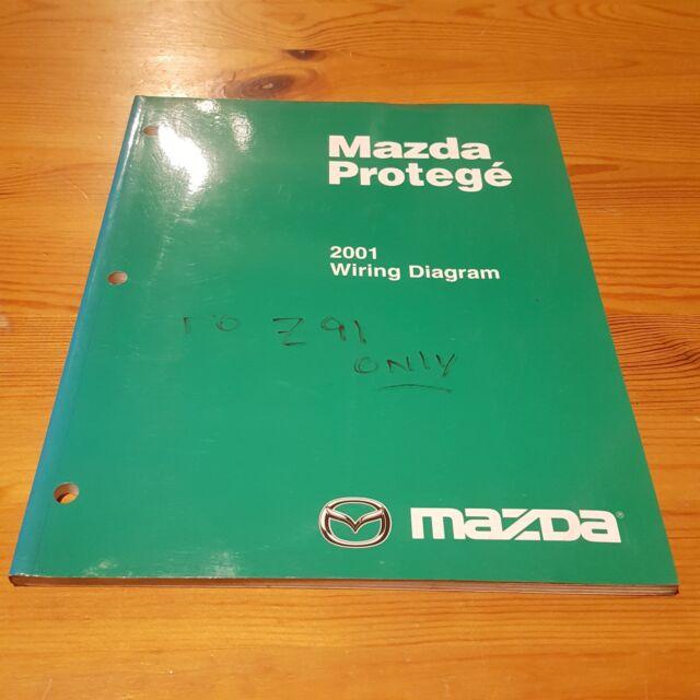 2001 Mazda Protege Wiring Diagram Service Repair ...
